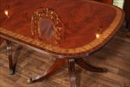Antique reproduction Federal style dining table