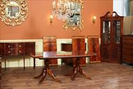 12 foot high end mahogany dining table