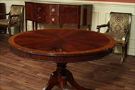 48 Round Mahogany Table
