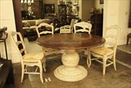 Thedore Alexander Kitchen Table and Chair Set