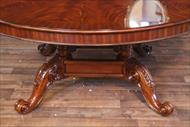 Special LIght Walnut Finish Mahogany Table