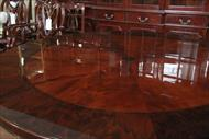 Mahogany furniture, high end furniture.  72 round mahogany dining table