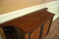 rosewood cabinet with cross banding