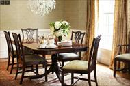 Chippendale mahogany dining chairs