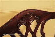 Chair crest with detailed handcarving