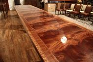 extra large mahogany dining table
