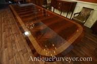 dinner lighting on mahogany natural finished table