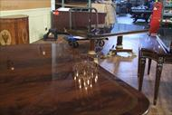 2 matching dining tables