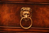 Lion mask and drop handle drawer pulls