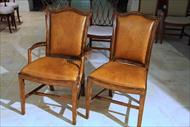 Thedore Alexander Chippendale Chairs Model 4100-757 and 4000-757