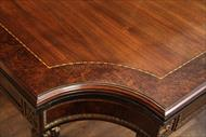 Corner details on a Osterly Manor dining table