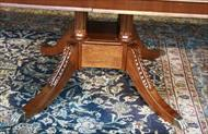 Mahogany table pedestal for sale