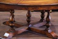 Country pedestal under Jupe table