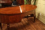 mahogany desk field