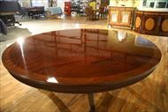 84 round dining table