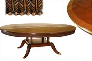 84 inch round American made table