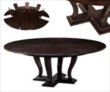 Ebonized transitional jupe table