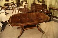 small mahogany dining table