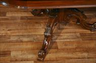 This mahogany reproduction conference table is a quality piece of furniture at a discounted price