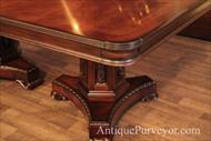 mahogany table bases