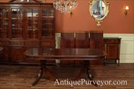 Table shown with matching china cabinet and sideboard