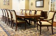 high end traditional dining set