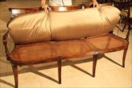 mahogany bench cushion