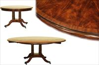 Large Round Dining Tables With Leaves Expanding Circular