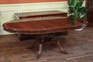 antique reproduction mahogany dining table