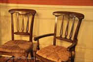 Arm chair and side chair