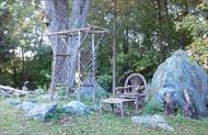 Rustic Arbor, Chair, Coffee Table