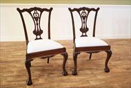 Leighton Hall dining chairs