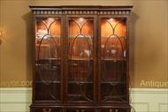 factory lighted china cabinet