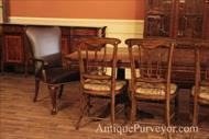 Eclectic dining room set