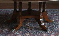 Duncan Phyfe Dining Table Pedestal