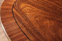rosewood inlaid mahogany dining table
