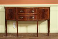 Antique style reproduction furniture, higher end Hepplewhite sideboard