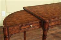 Antique reproduction writers desk with side extensions.  Expands from 43 -79 inches.