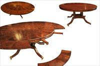 Round Maitland Smith dining table