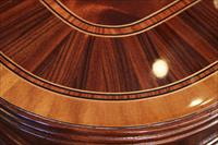 Soft turn corner with primavera, rosewood and tulipwood inlays and reeded edge