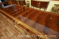 Standard mahogany finish