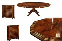 mahogany poker table
