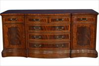 high end mahogany sideboard