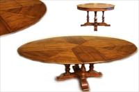 Round to oval jupe table