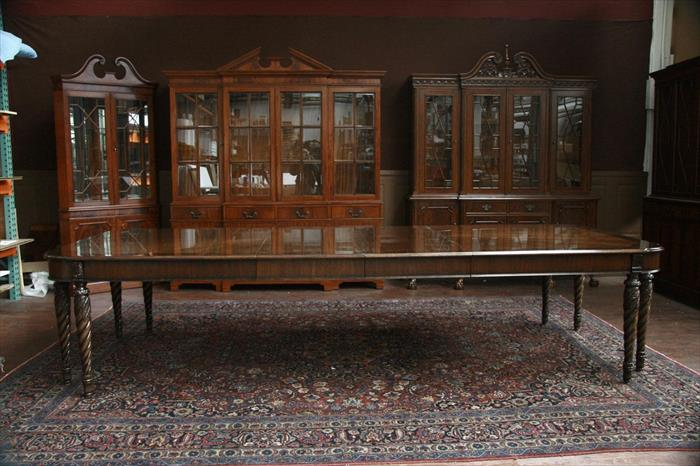 henredon dining room table american made dining room table 8 leg