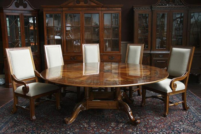 large round mahogany dining room table 84 round dining table hdgp xo