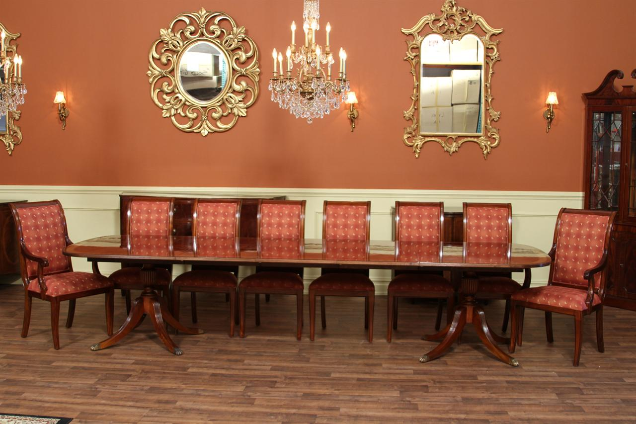 Antique Style 12 Foot Dining Table