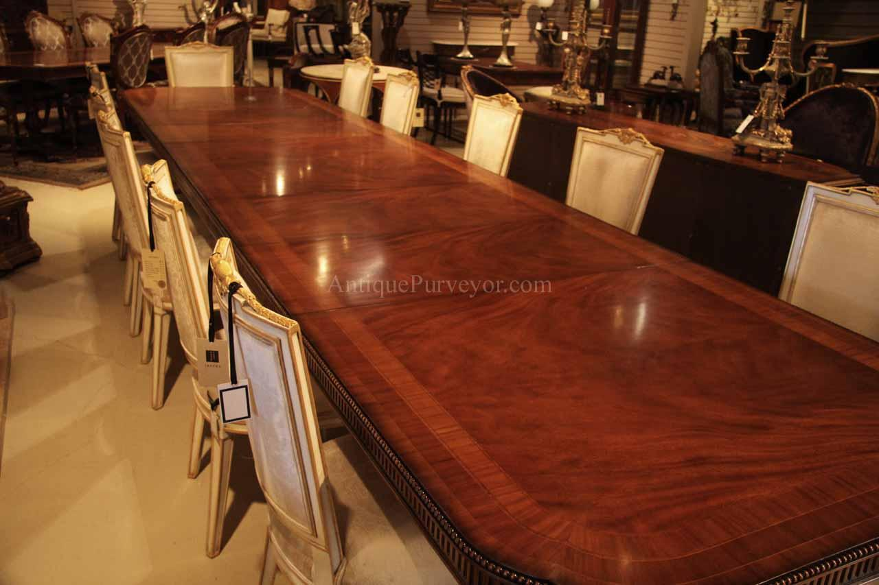 16 Foot Long Dining Table Sits 18 To 20