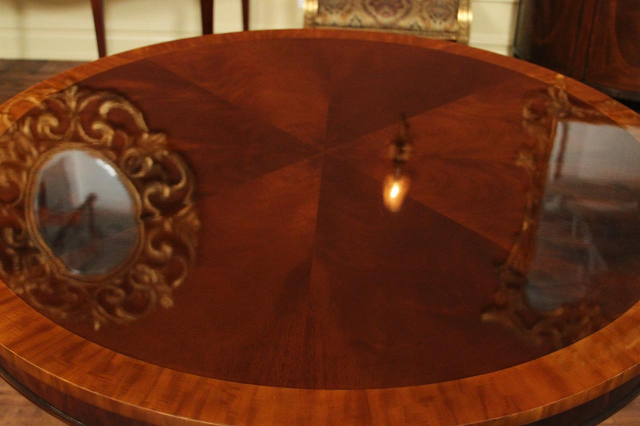 44 round dining table 1 piece no leaf