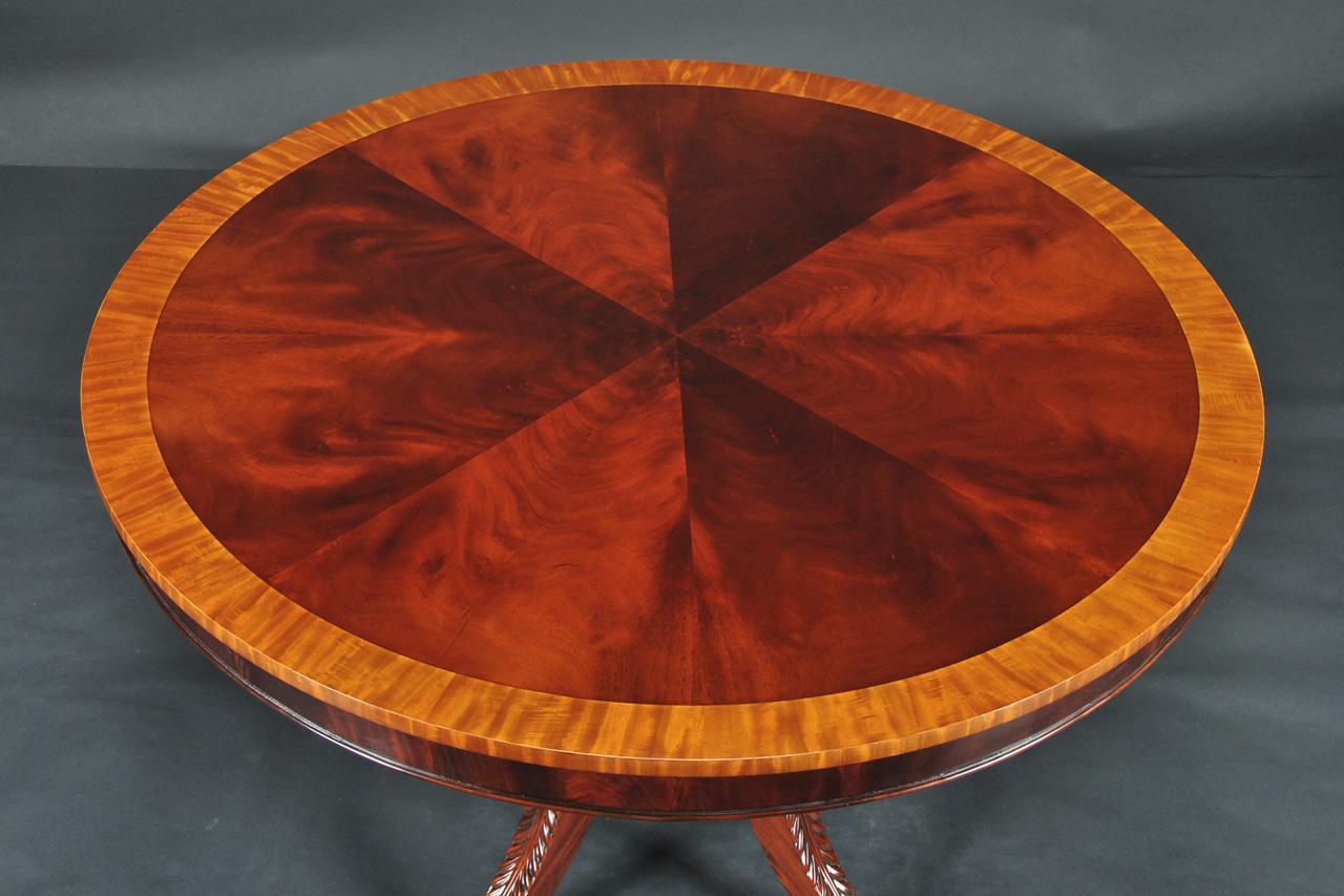 Round Mahogany Dining Table 44 034 Reproduction Antique  : thidOIPVj2RCPpd2W0EvIfYN XS1gHaE7ampw230amph170amprs1amppclddddddampo5amppid1 from www.ebay.com size 1280 x 853 jpeg 95kB